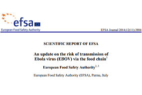 EFSA evalúa el riesgo de transmisión de Ébola a través de carne de animales silvestres
